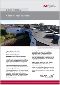 Layfield Roof Repair Case Study Download