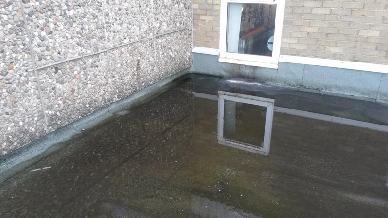 school risk assessment - standing water