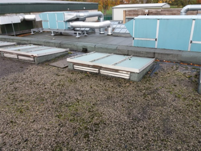 Dangerous Roof Lights - Flat Roof Replacement, the benefits
