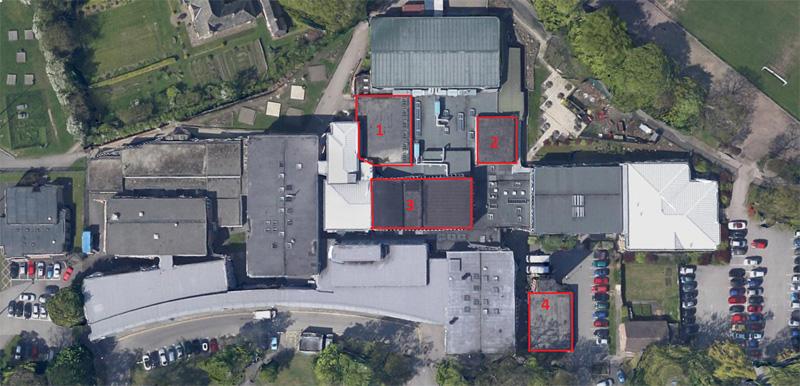Academy School Roof Location