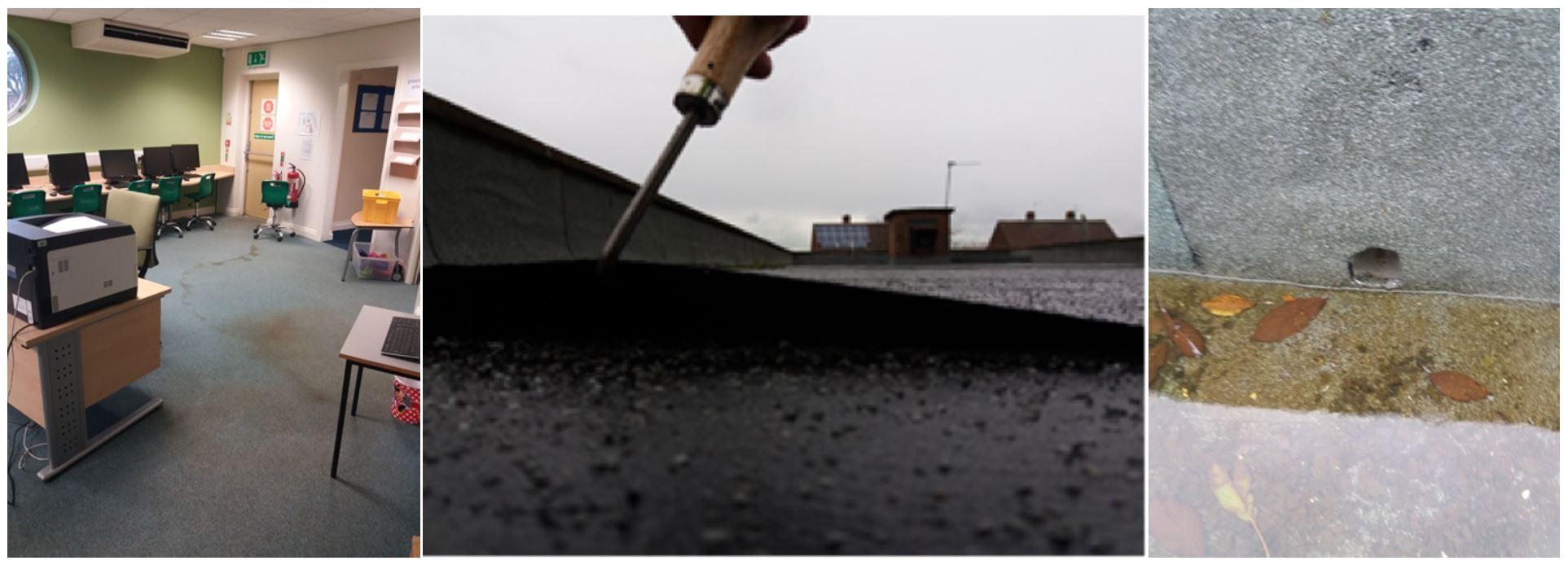school roof refurbishment failures