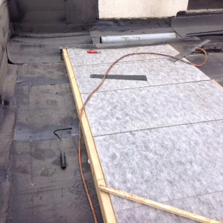 Timber hard edge - Flat Roof On Site Inspections