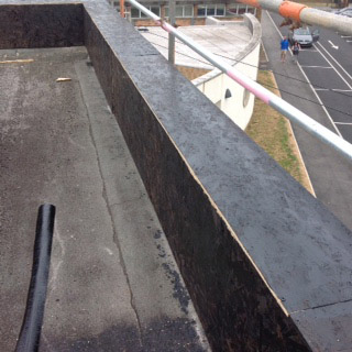 Timber Upstand Flat Roof On Site Inspection