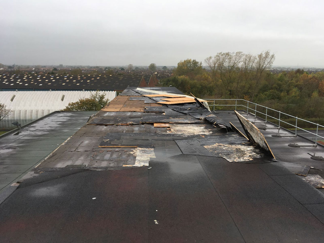 Poor Roof Installation - After
