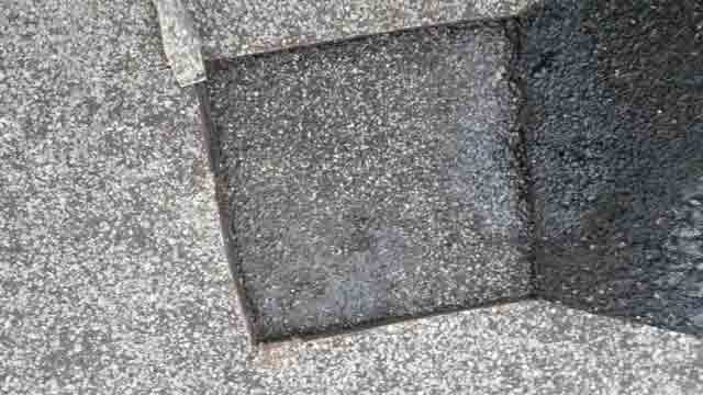 why flat roofs leak - delamination