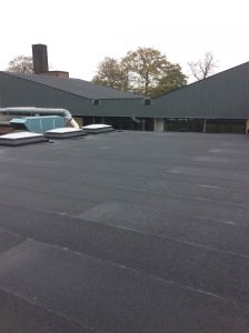 Flat Roof Replacement - a new roof